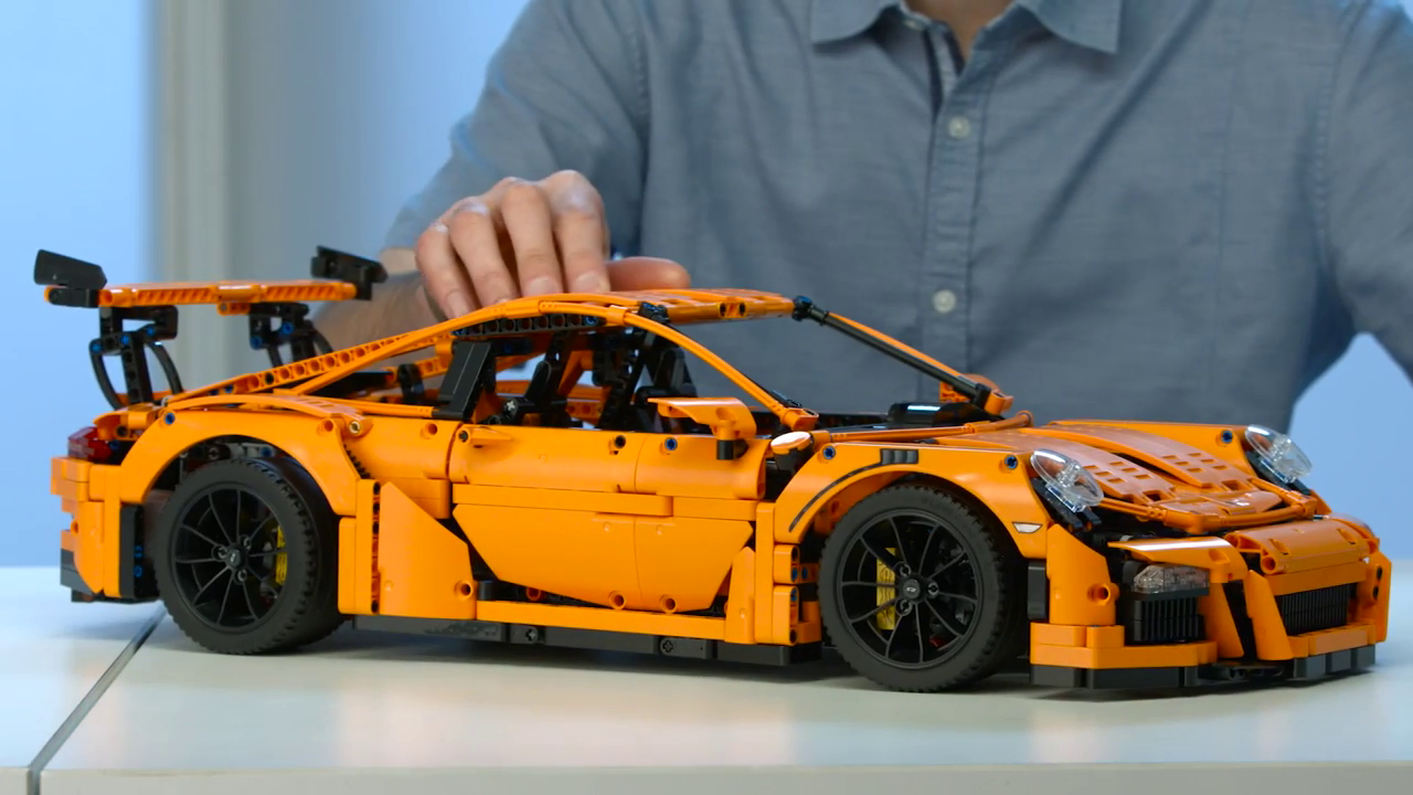 how to fix your lego porsche gt3 gearbox instructions