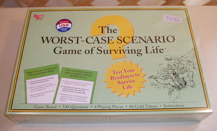 the worst case scenario game of surviving life instructions