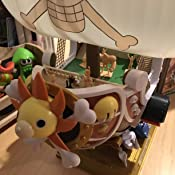 one piece thousand sunny model kit instructions