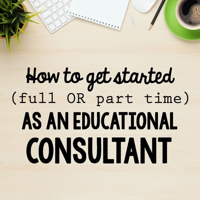 how to become an instructional design consultant
