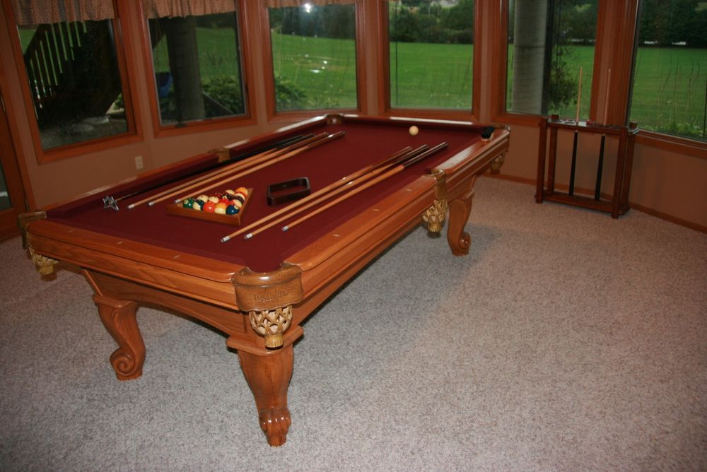 amf playmaster pool table assembly instructions