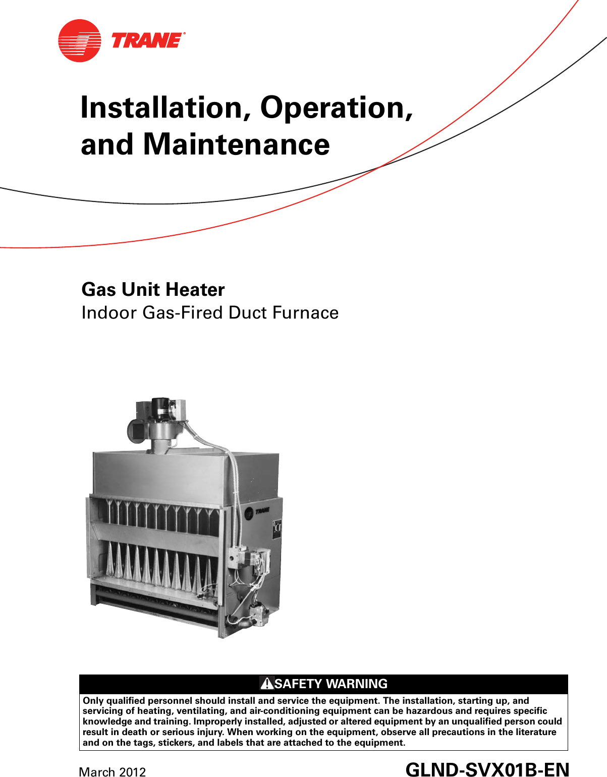 bonaire gas ducted gas heting instruction manual