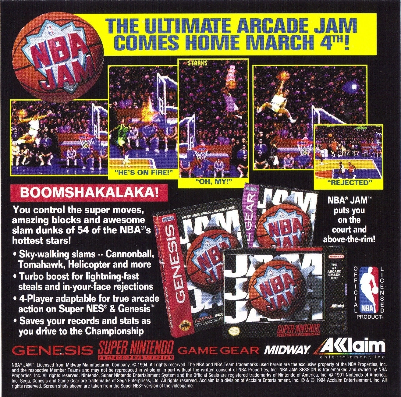 instructions for nba jam session