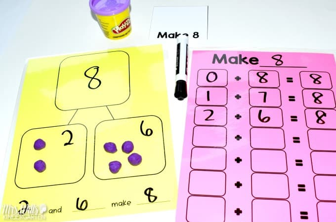 how to differentiate math instruction in kindergarten