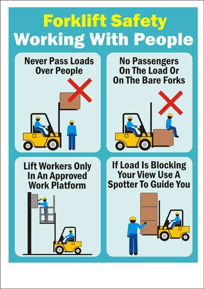 instructions for using forklift