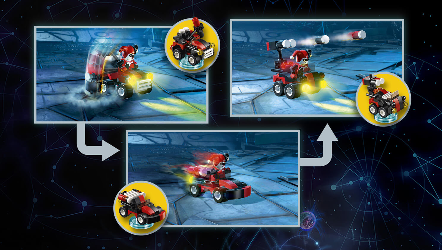 lego dimensions back to the future doc brown instructions