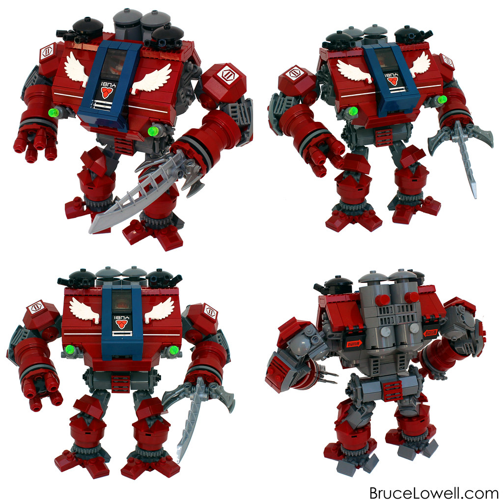 warhammer dreadnought lego instructions